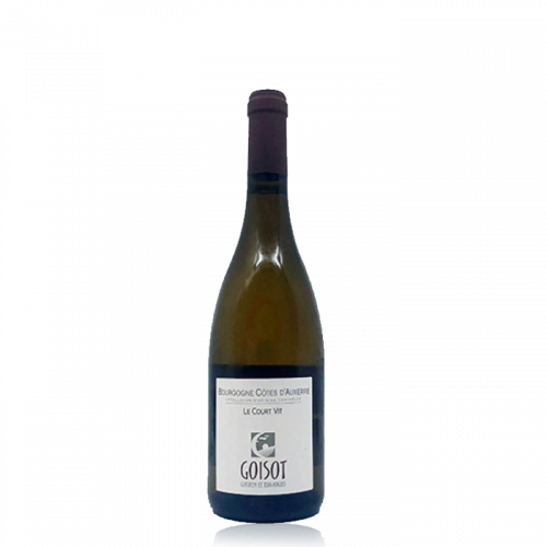 """Bourgogne Côtes d'Auxerre """"Le Court Vit"""" Blanc - 2017 (Jean-Hugues et Guilhem Goisot)"""